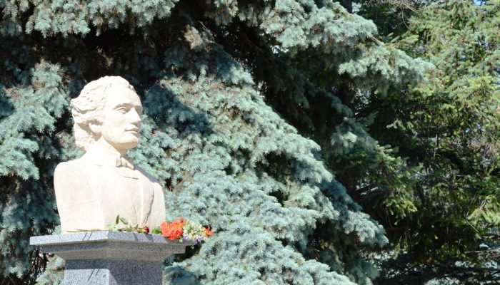 bustul m.eminescu